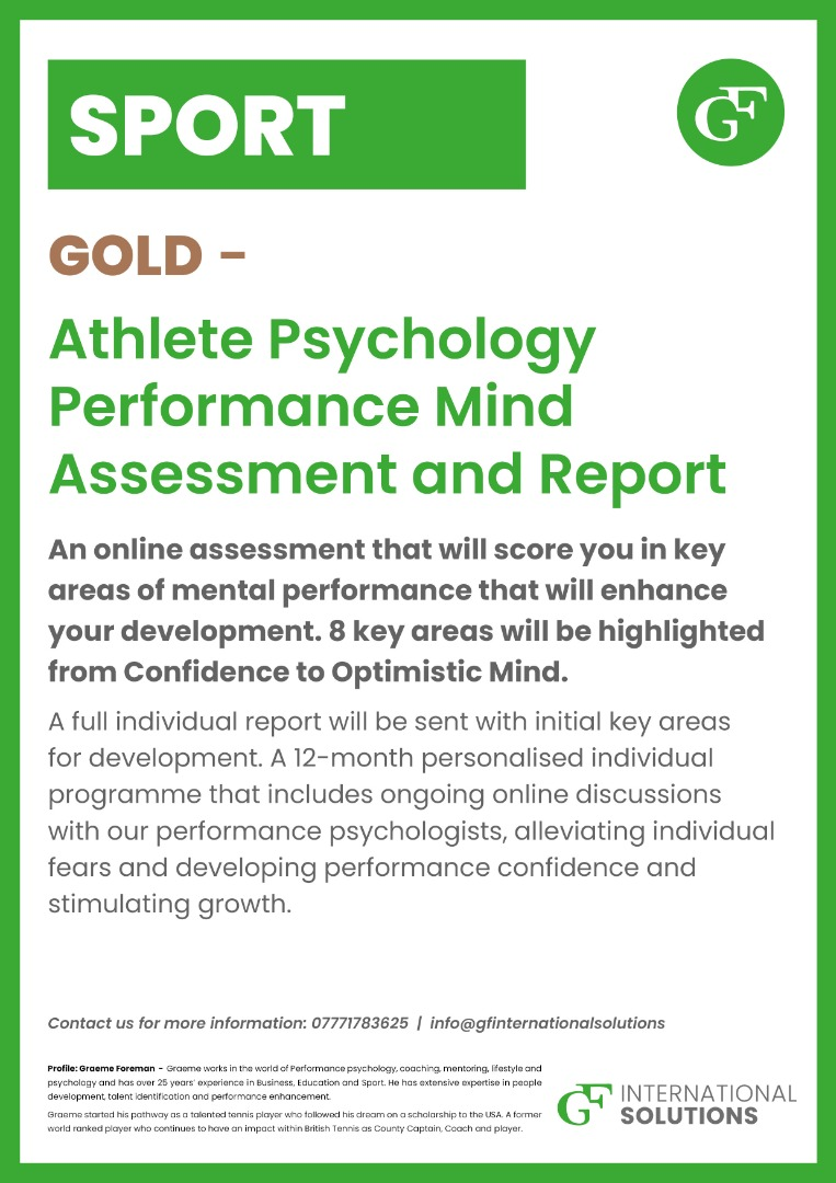 GOLD Psychology Report