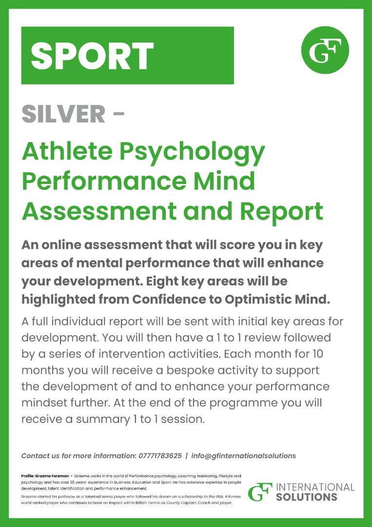 SILVER Psychology Report